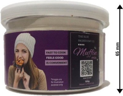 Blue Ingredients MUFFIN MIX 100g 100 g at flipkart