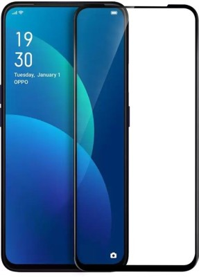 Brown Bee Edge To Edge Tempered Glass for Oppo F11, Oppo F11 Pro(Pack of 1)