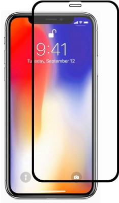 Brown Bee Edge To Edge Tempered Glass for Apple iPhone X, Apple iPhone XS(Pack of 1)
