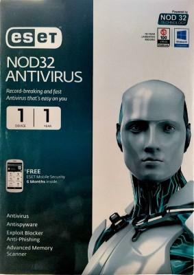 ESET Anti-virus 1 User 1 Year(CD/DVD)