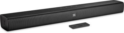 JBL BAR20 (Built-In Dual Bass Port, Surround Sound) Bluetooth Soundbar (Black, 2.0 Channel)