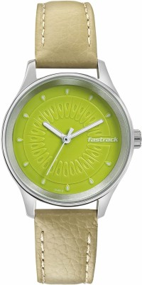 Fastrack Tropical Fruits Analog Watch   For Women Fastrack Wrist Watches