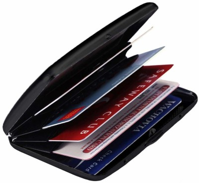 SIHMAR 6 Card Holder(Set of 1, Black)