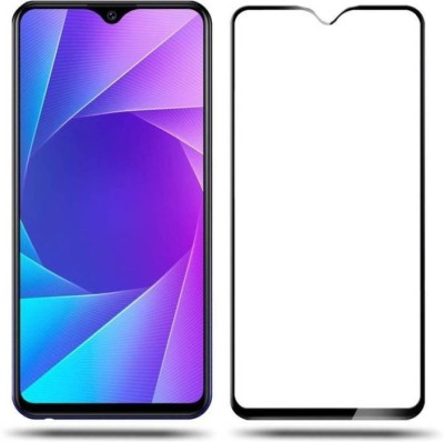 ajd Edge To Edge Tempered Glass for Vivo Y95(Pack of 1)