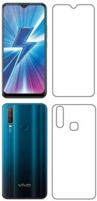 FIRST IMPRESSION Front and Back Tempered Glass for Vivo Y17(Pack of 2)