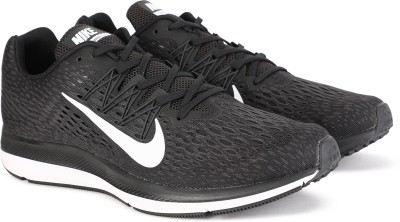 Nike ZOOM WINFLO 5 Running Shoes For Men(Black) at flipkart