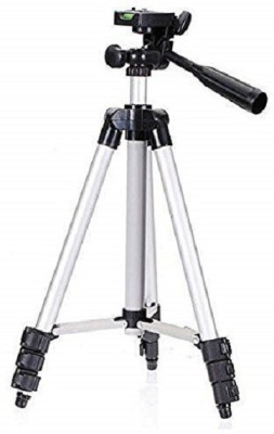 Melodeum Tripod Stand 360 Degree Extendable Stretch 3110 Portable Digital Camera Mobile Stand Holder Tripod Black, Silver, Supports Up to 1000 g