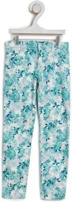 The Children's Place Regular Fit Girls Green Trousers at flipkart