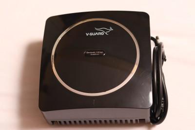 V Guard VG Crystal Standard Voltage Stabilizer Black