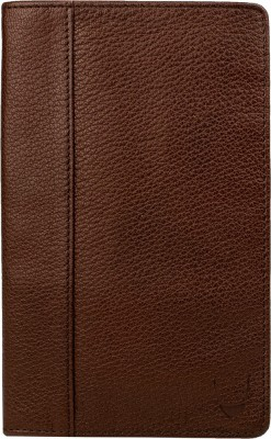 Hidesign Men Brown Genuine Leather Document Holder(20 Card Slots) at flipkart