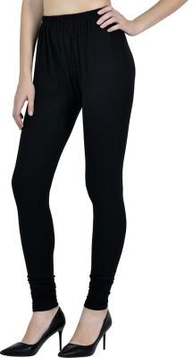 GOOFFI Churidar  Legging(Black, Solid)