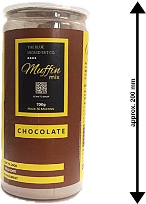 Blue Ingredients EXTRA DARK MUFFIN MIX 700 g at flipkart