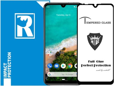 RR Design Edge To Edge Tempered Glass for Xiaomi Mi A3, Redmi A3(Pack of 1)