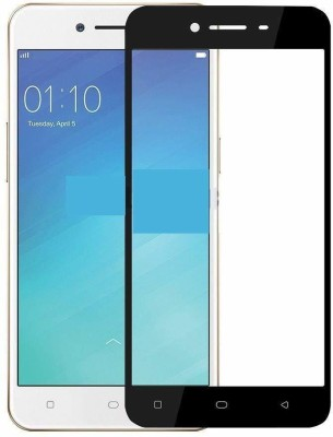 Vaku Luxos Edge To Edge Tempered Glass for VIVO Y55L 3D(Pack of 1)