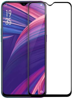 ajd Edge To Edge Tempered Glass for Realme 2 Pro(Pack of 1)