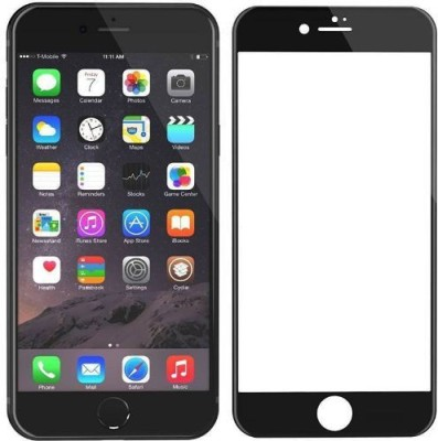 ajd Edge To Edge Tempered Glass for Apple iPhone 7, Apple IPhone 8(Pack of 1)