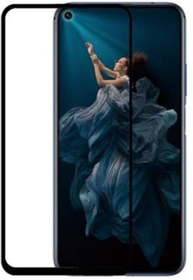 CEDO XPRO Edge To Edge Tempered Glass for Full Glue Coverage Screen Protector Huawei Honor 20 (Black)(Pack of 1)