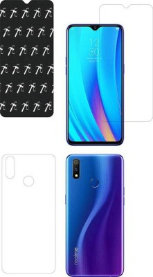 Karpine Front and Back Screen Guard for Realme 3 Pro(Pack of 1)