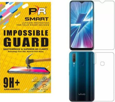 PR SMART Front and Back Tempered Glass for Vivo Y17(Pack of 2)