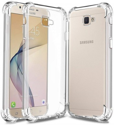 Esurient Back Cover for Samsung Galaxy J7 Prime(Transparent, Grip Case)