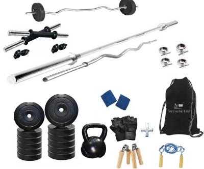 Protoner PR-20K Home Gym Combo(Weight of Plates = 20 kg)