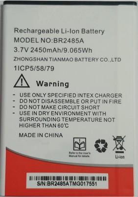 LIFON Mobile Battery For Intex Aqua Ring BR2485A 2450mAh