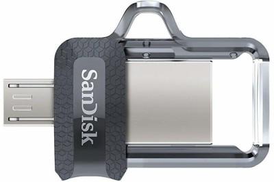 SanDisk Ultra Dual 16 GB USB 3.0 OTG Pen Drive 16  GB Pen Drive Silver SanDisk Pen Drives