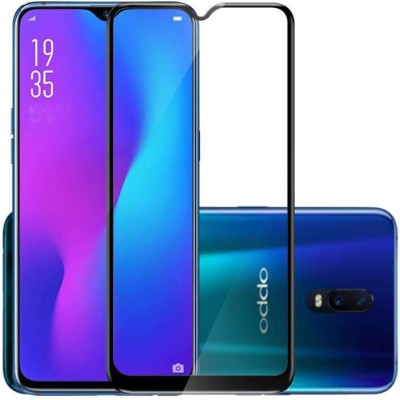 ajd Edge To Edge Tempered Glass for Oppo R 17 Pro(Pack of 1)