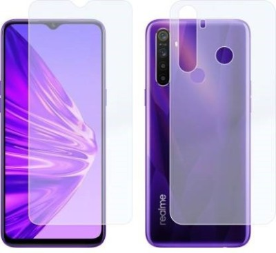 KHR Front and Back Screen Guard for Realme 5, Realme 5s(Pack of 2)