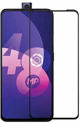 ajd Edge To Edge Tempered Glass for Oppo F11 Pro(Pack of 1)