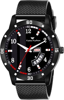 Fadiso fashion FF8611-BK Black Day Date Unique New Analog Watch  - For Men