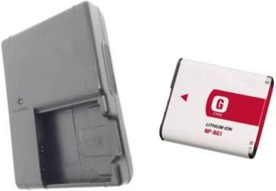BOOSTY COMBO NP BG1 Compatible Li ion Camera Battery Charger Black
