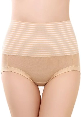 PLUMBURY Women Hipster Beige Panty(Pack of 1)
