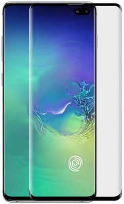 Eagle Edge To Edge Tempered Glass for Samsung S10 Plus Tailor made with perfect cut accurately made for Samsung S10 Plus(Pack of 1)