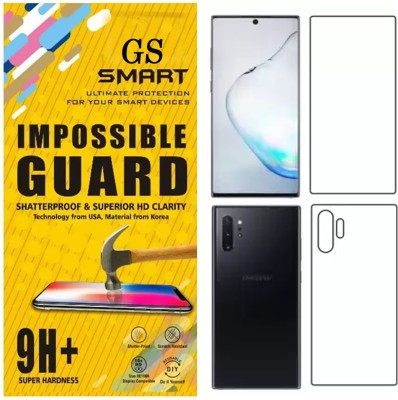 GS SMART Front and Back Screen Guard for Samsung Galaxy Note 10(Pack of 2)