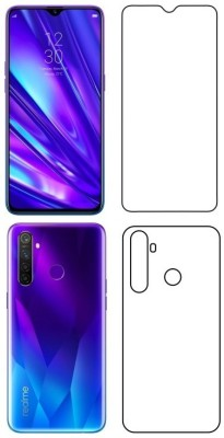 Discoverz Front and Back Screen Guard for Realme 5 Pro(Pack of 1)
