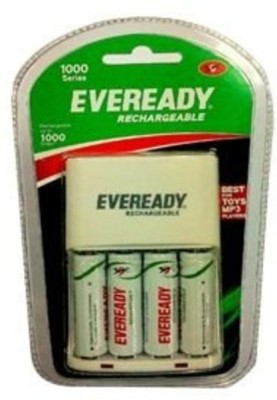 Eveready AA 1000 BP4 AC Camera Battery Charger White