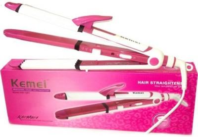 Kemei KM-1291 Hair Straightener(Pink)