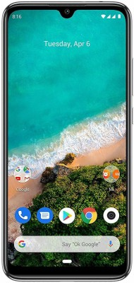 Mi A3 (More Than White, 128 GB)(6 GB RAM)