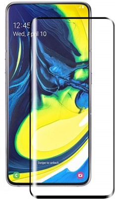 DSCASE Edge To Edge Tempered Glass for Samsung Galaxy A80(Pack of 1)