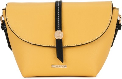 Cara Mia Yellow Sling Bag