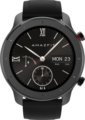 Huami Amazfit GTR **** Starry Black Smartwatch(Black Strap Regular)