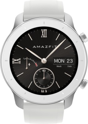 Huami Amazfit GTR **** Moonlight White Smartwatch(White Strap Regular)