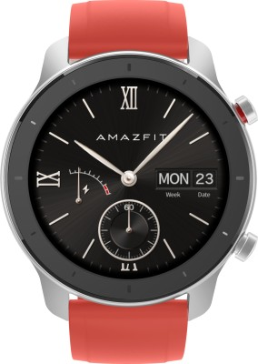Huami Amazfit GTR **** Coral Red Smartwatch(Red Strap Regular)