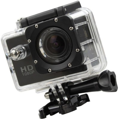 Odile 1080P WiFi Waterproof HD 1080P Outdoor Sports Sports and Action Camera Black, 16 MP