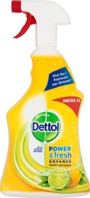 Dettol Power And Fresh Advance Multi Purpose Sparkling Lime And Lemon(1 L)