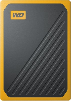 WD My Passport Go 1 TB External Solid State Drive(Black, Yellow)