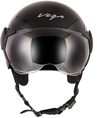 VEGA ATOM Motorbike Helmet(Black)