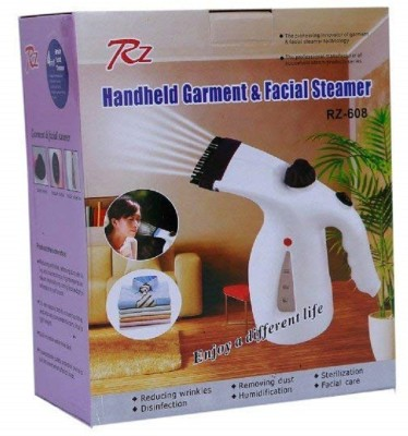 Radhe Krishna Hand-held Fabric Streamer 1000 W Garment Steamer(White)
