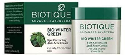 Biotique bio winter green anti acne cream(15 g)